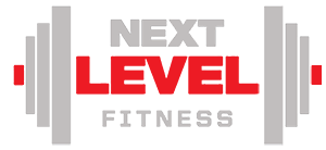 Next Level Fitness logo #getonthenextlevel